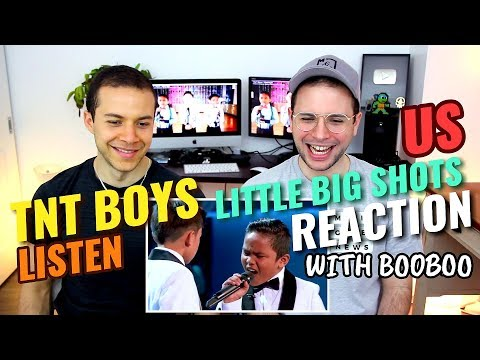 Ovela's Brother reacts to - TNT Boys - Listen | Little Big Shots US