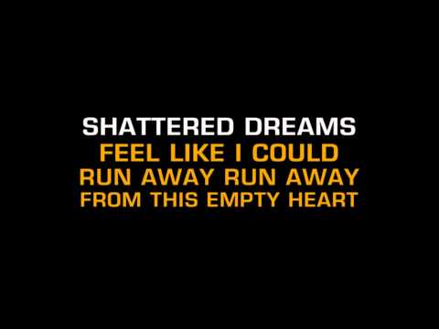 Johnny Hates Jazz - Shattered Dreams (Karaoke)