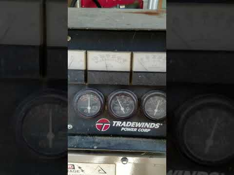 Auction Item 9/13/17 Tradewinds Power Corp 40kw diesel generator0170911 143615