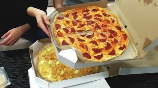 Доставка еды Краснодар. Uno piza. Обзор.. 18+(Просим прощения за оператора. Обзор на доставку пиццы