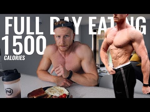 1500 Calorie Full Day of Eating Bodybuilding Contest Prep