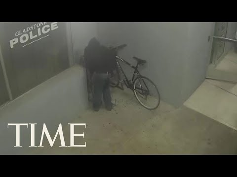 Terry J - Man Gets Arrested Trying To Steal Bike In Front Of Police Station!