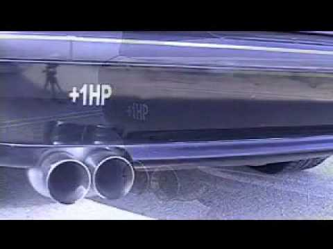 Bmw E39 528i Magnaflow Muffler Youtube