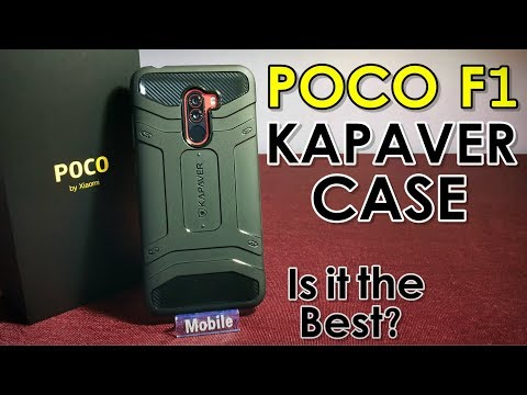 competitive price b6f75 b40e0 POCO F1 Shock Proof Armor Case By KAPAVER | Is It The Best But A Bit ...