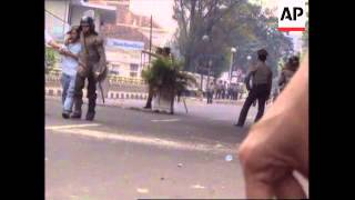 INDONESIA: JAKARTA: SECOND DAY OF ANTI GOVERNMENT RIOTS