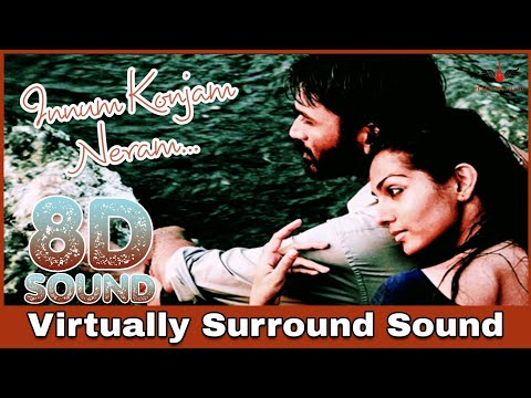 Innum Konjam Neram | 8D Audio Song | Mariyan  | Dhanush | AR Rahman 8D Songs