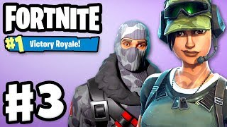 Fortnite - Gameplay Part 3 - Final Fight #1 VICTORY ROYALE with Zanitor!