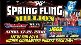 Spring Fling Million 2018 Racepak $30k Thursday