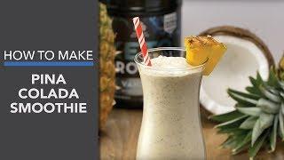 Piña Colada Smoothie with Keto Protein™ Vanilla