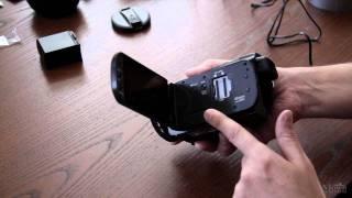 Canon HF-G10 Unpacking & Usage