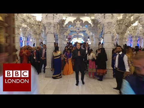 Diwali in north west London – BBC London News