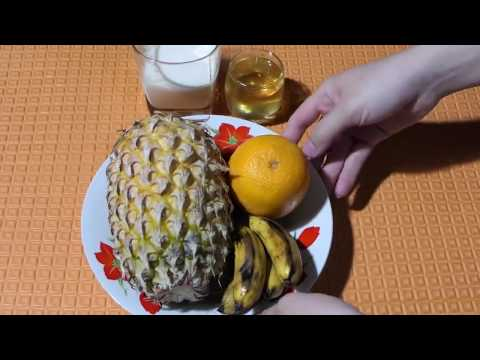 How To Make your Banana Bigger, Thicker and Stronger- Pineapple Banana and Orange Juice