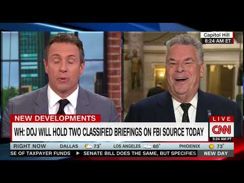 PETER KING FULL INTERVIEW WITH CHRIS CUOMO - NEW DAY (5/24/2018)