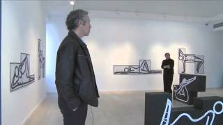 Julian Opie: This is Shahnoza in 3 Parts at Alan Cristea Gallery