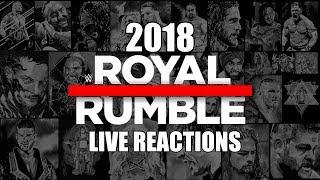 WWE Royal Rumble 2018 | Live Reactions