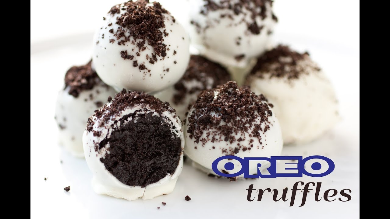 Oreo Truffles - Only 3 Ingredients - YouTube