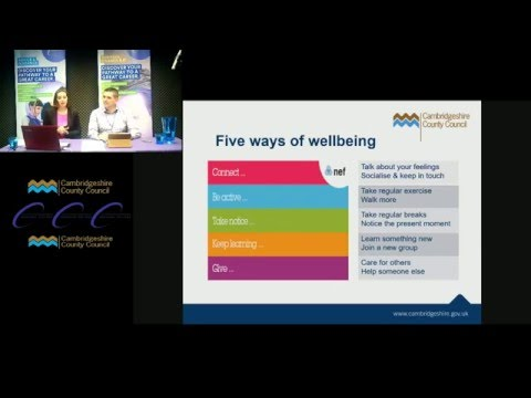Videostream 1 - Children and Young People's Mental Health and Wellbeing