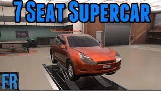 Automation Challenge - 7 Seat Supercar
