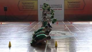 Чемпионат  Владивостока по черлидингу! Домино! 28.03.2015