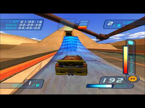 Hot Wheels World Race Seared Tuner on Pyramid Run