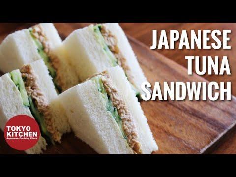 How To Make Japanese Tuna Sandwich🥪.