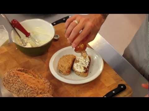 Goat Cheese with Bake-At-Home Seeded Multigrain