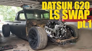 Download DATSUN 620 LS SWAP pt. 1 Mp3 and Videos