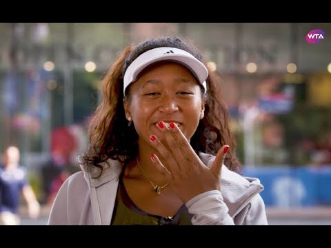 'I almost knocked out Federer!' | Getting to Know Naomi Osaka 大坂なおみ #TBT