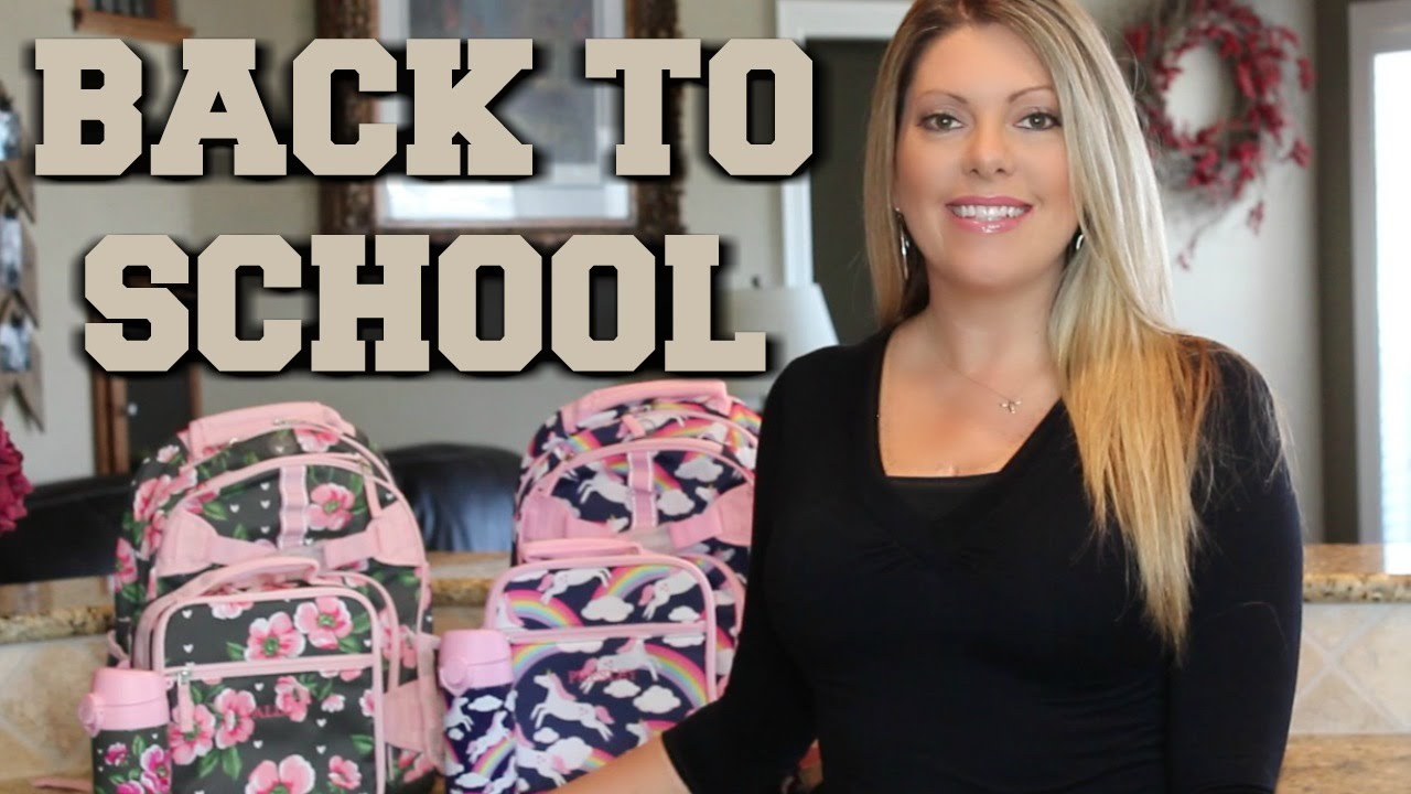 Back To School Backpacks Lunch Box Ideas Pottery