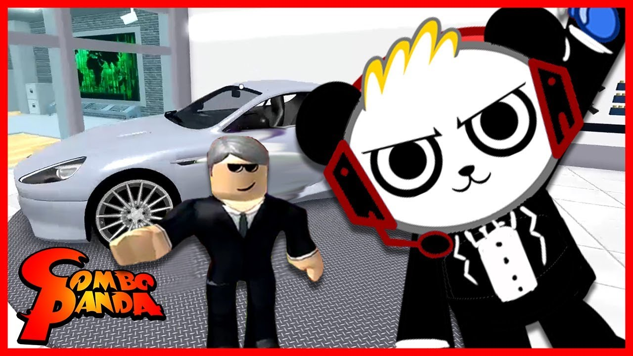 ROBLOX Spy Training Obby Let's Play with Combo Panda