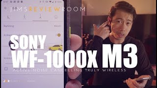SONY WF1000XM3 ANC Truly Wireless Earphones - REVIEW