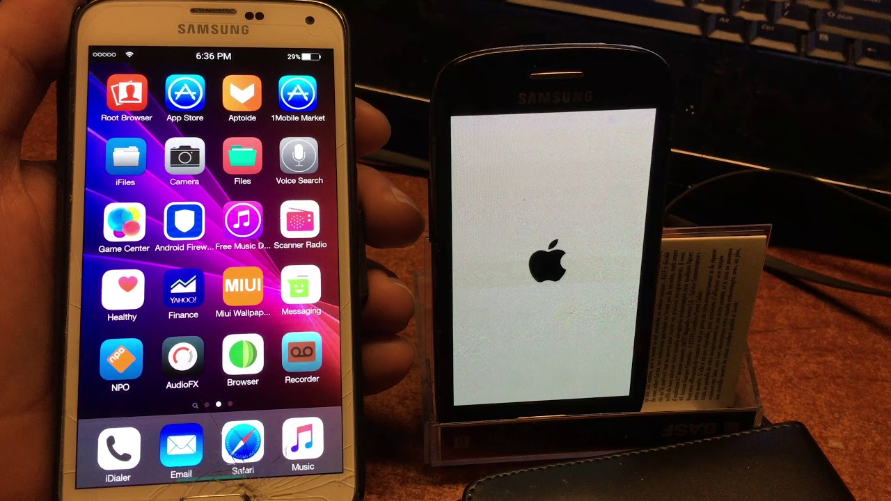 IOS X ROM Samsung Galaxy s3 MINI and MOD Samsung S4 S5 S6 - November  updates 2017