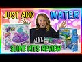JUST ADD WATER SLIME KITS TEST We Are The Davises mp3