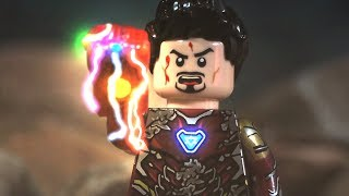 LEGO Avengers Endgame Final Battle Part 6 - Ending I am Iron Man Snap