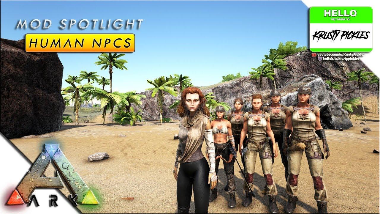 Ark: Survival Evolved - Mod Showcase - Human NPCs (Bush People Replacement)