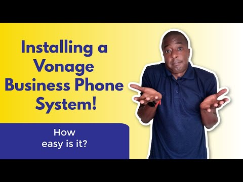 How Easy Is Installing Vonage Business VOIP Phone Systems?