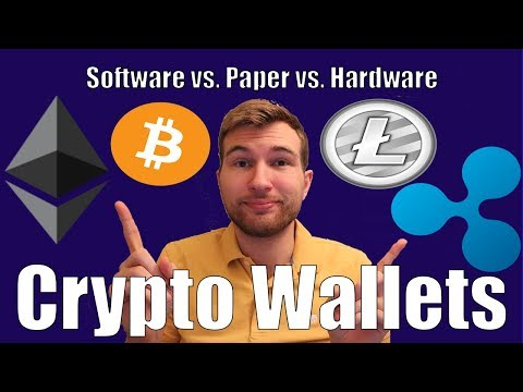 Cryptocurrency Wallets: Software vs. Hardware vs. Paper