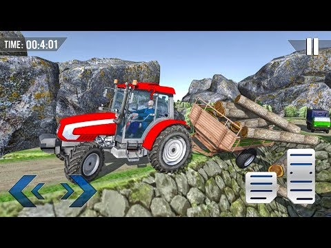 Offroad Farming Tractor Animal Transport 2019 - Android gameplay
