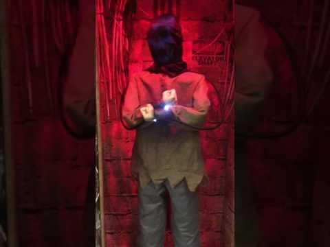 Spirit Halloween 2014 Electrified Maniac. STORE DEMO
