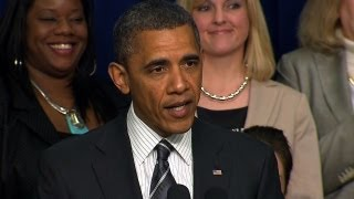CBS Evening News with Scott Pelley - Obama attacks GOP on women