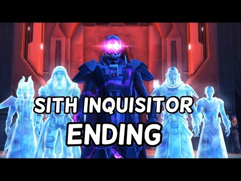 Sith Inquisitor - Chapter 3 Ending HD (Dark Side)