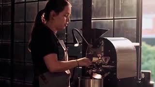 Tostadora de café 1 kg Prisma Coffee Tech. Coffee Roasting Machine. Luisa Quintero Maestra Tostadora