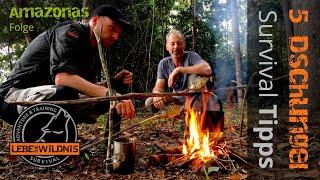 5 Dschungel Survival Tipps - Survival Adventure & Training