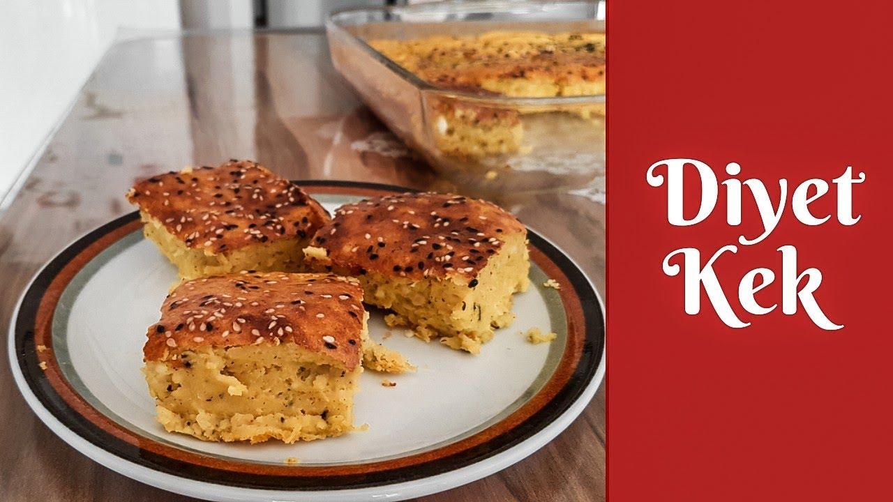 Diyet Kek Yapımı Videosu