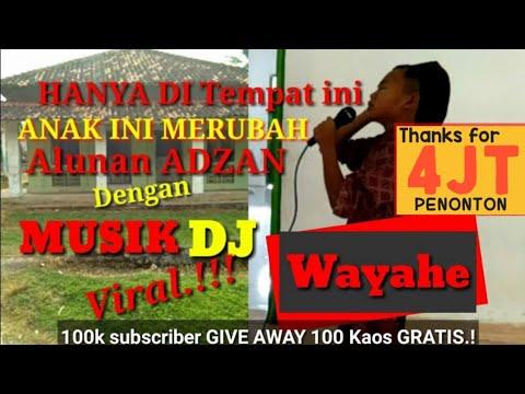 Lagi Viral !! suara ADZAN di Ganti dengan Musik Dj wayahe || bikin heboh warga