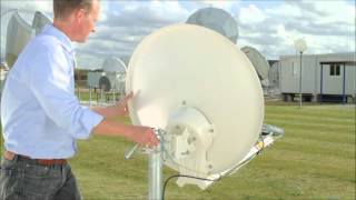 Satpower internetten via de Satelliet Afregelen en Activeren van uw hardware