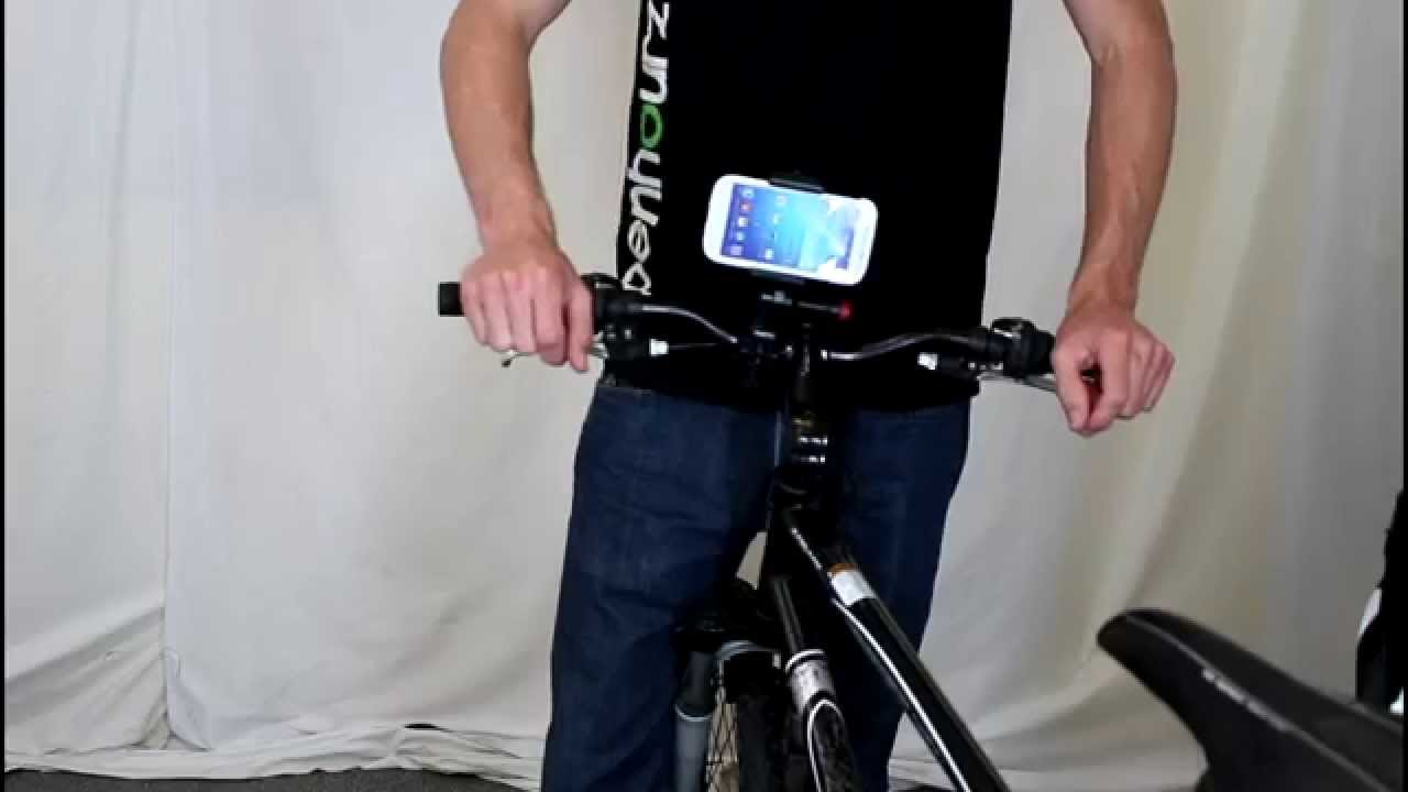 A Better Mount Than The Cell Phone Shop Bicycle Cell Phone Holder