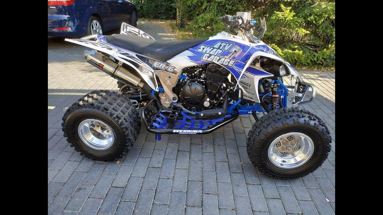Rebuild Yamaha YFZ 450 hybrid / Swap engine ER-6