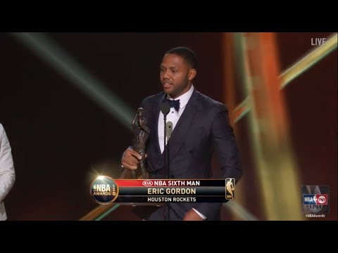 Eric Gordon Named the 2017 NBA Sixth Man of the Year | NBA on TNT