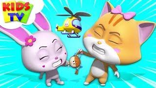 Lucha Por La Muñeca | Loco Nueces De Dibujos Animados De Muestra | Videos Divertidos Para Los Niños - Los Niños De La Tv